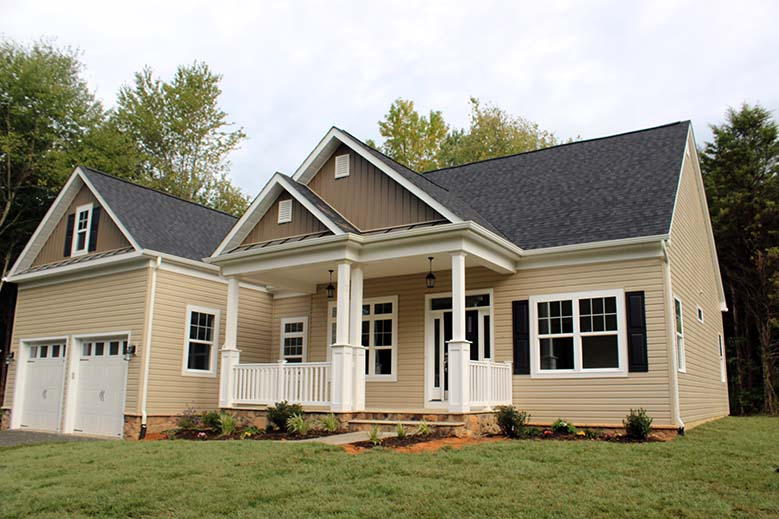 Lake of the Woods - 109 Harrison Circle Front Elevation